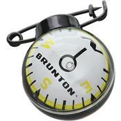 Brunton 91299 Globe Pin-On Ball Compass Features Waterproof and Rotating Ball Works from any Angle