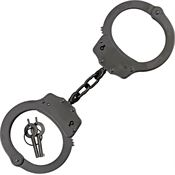 China Made MI220041BK Scorpion Handcuffs with Black Finish Nickel Plated Steel Construction