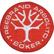 Boker Tree Brand Knives 2264 Logo Patch Red