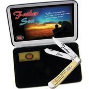 Case XX Knives FSY Father/Son Trapper Ltd Edition Stainless Folding Pocket Knife with Synthetic Handle
