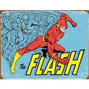 Tin Sign N1959 The Flash Retro Nostalgic Embossed Tin Sign