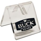 Buck 21049 1-Knife Acrylic Knife Stand with Black Buck Logo