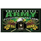 Super Products S38699 Army Flag with 100% Cotton Construction