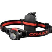 Coast Gear 19274 HL7R Rechargeable Headlamp with Black Composition Housing