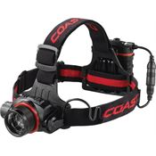 Coast Gear 19649 HL8 Headlamp In Gift Box with Black Composition Housing