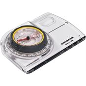 Brunton 91575 Tru Arc5 Baseplate Compass with Clear Polycarbonate Construction