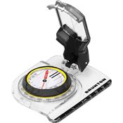 Brunton 91576 TruArc 7 Sighting Compass Clear Acrylic Base with Lanyard Slot