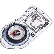 Brunton 91577 TruArc10 Base Plate Compass with TruArc Global Needle