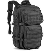 Red Rock Outdoor Gear 80226BLK Large Assault Pack Black with 600 Denier PVC Lined Polyester Construction