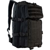 Red Rock Outdoor Gear 80126BLK Assault Pack Black with 600 Denier PVC Lined Polyester Construction