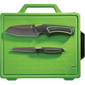 Gerber 1041 Freescape Camp Kitchen Kit Knife with Black Rubberized Handle