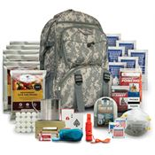 Wise Company WISE02 Five Day Emergency Survival Kit Pack Camo For One Person