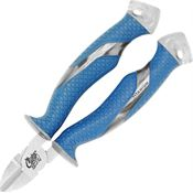 Camillus 18827 Cuda Wire Cutters Titanium Bonded Steel with Clear Rubberized Handle