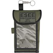 ESEE Knives MAPCASE Map Case OD Green Durable 1000 Denier Nylon Construction