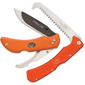 Outdoor Edge ROC30 Razor Pro Saw Combo Lockback Folding Pocket Knife