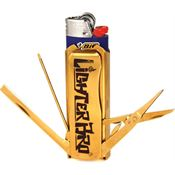 Lighter Bro 2013G Lighter Bro Multi Tool Gold with Stainless Construction