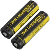 NITECORE Ni14500a IMR 14500 Li-ion Battery with High Discharge Performance