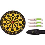Z-Hunter Knives 154SET Three Piece Throwing Set Fixed Blade Knife