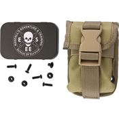 ESEE Knives 52POUCHK Esee Accessory Pouch Khaki with Nylon Construction