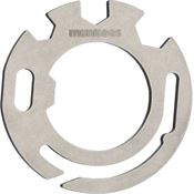 Munkees 2504 Stainless Steel Circular Multi Tool with Stainless Construction
