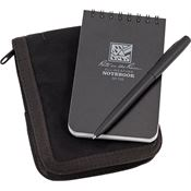 Rite in the Rain 735BKIT 3 x 5 Kit Black Book/Cover Write Notebook