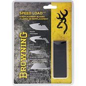 Browning Knives 0115V Speed Load Replacement Blades