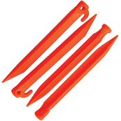 Ontario Knives 0414OR 9 Inch Jericho Vampyr Tent Stakes Orange