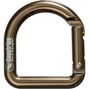 Casstrom 10110 Carabiner Antique Brass with Aluminum Construction