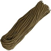Marbles 1170H 100 Feet Paracord Coyote with 550 Paracord Construction