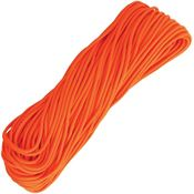 Marbles 1171H 100 Feet Paracord Neon Orange with 550 Paracord Construction
