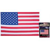 Flags 42043 American Flag with Polyester Construction