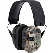 Walkers Game Ears 00829 Camo Ultimate Power Muff Quads with Adjustable Headband