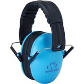 Walkers Game Ears 01245 Blue Folding Kid Muff with Adjustable Headband
