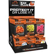 Walkers Game Ears 01466 Ear Plug Display 58 Assorted with Aluminum Carry Canister