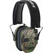 Walkers Game Ears 01475 Camo Razor Slim Electronic Muff with Adjustable Headband