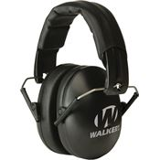 Walkers Game Ears 10498 Black Youth & Women Folding Muff with Adjustable Headband