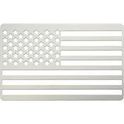 Readyman 09 American Flag Card with Stainless Construction