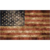 Flags 7283 3' x 5' USA Vintage Flag with Polyester Construction