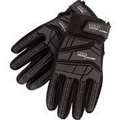 Cold Steel GL13 Tactical Smooth Goatskin Leather Glove Black - XL