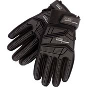 Cold Steel GL14 Tactical Smooth Goatskin Leather Glove Black - XXL