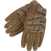 Cold Steel GL21 Tactical Smooth Goatskin Leather Glove Tan - Medium