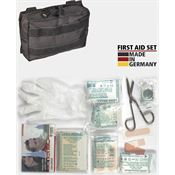 Miscellaneous 4379 M4379 First Aid Kit MOLLE Pouch with Black Nylon MOLLE Compatible Belt Sheath