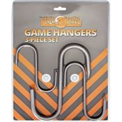 Wild Boar Knives 1024 Game Hangers with Three Metal Hooks (Small, Medium, Large) - 3 PC