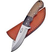 Frost CW012WW Guthook Skinner Knife with Walnut Handle