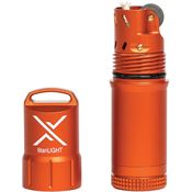 Exotac Fire Starters 5500ORG Orange titanLIGhT Refillable Lighter with Aluminum Construction