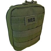 Elite First Aid Kits 142OD Tactical Trauma Kit 1 OD Green with Nylon Construction
