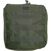 Elite First Aid Kits 184OD Green GP IFAK Level 1 Kit OD with Nylon Construction