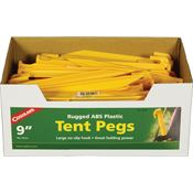Coghlan's Outdoor Gear 9310 Tent Pegs ABS 9in 100pk