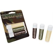 Camouflage Face Paint SCORP3 Scorpion Camouflage Sticks