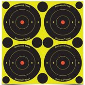 Birchwood Casey 34315 Shoot-NC 3in Bulls Eye Target
